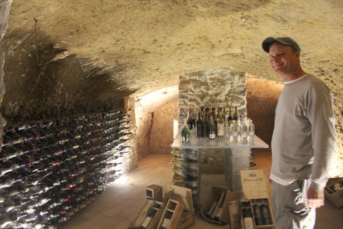 Griffins Resort wine cellar, Wally