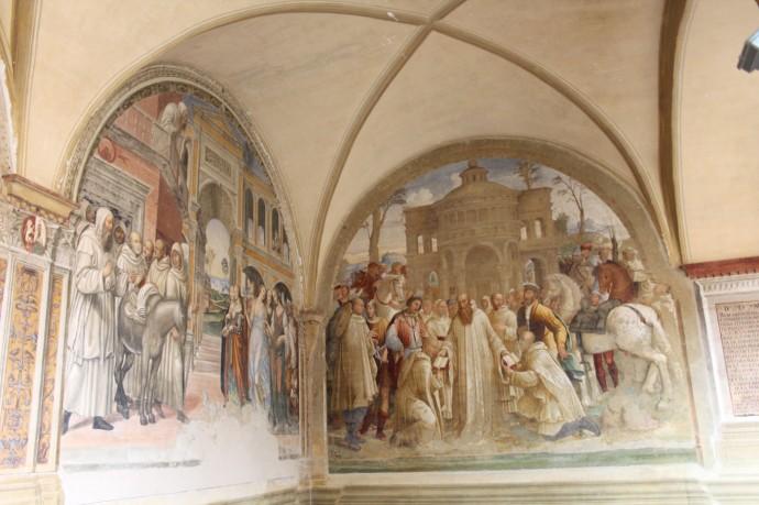 Monte Oliveto 2 corner panels