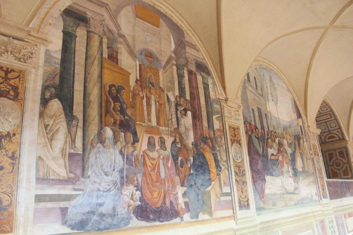 Monte Oliveto ladies panel