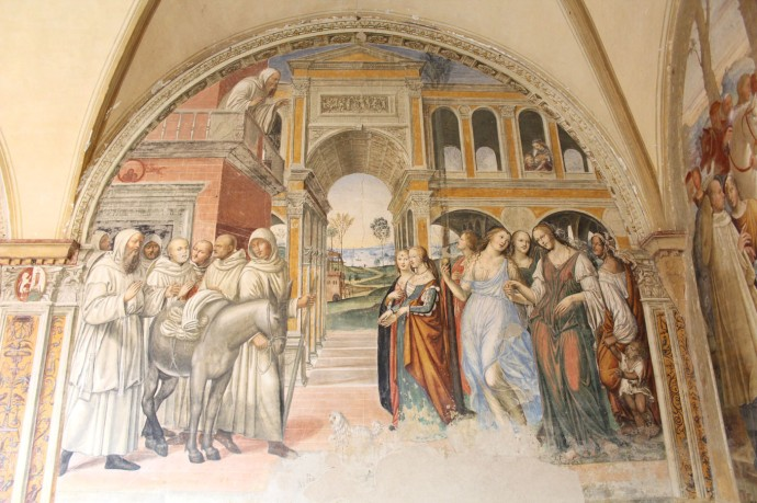 Monte Oliveto monks and ladies