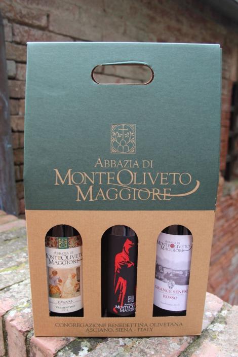 Monte Oliveto wine box set