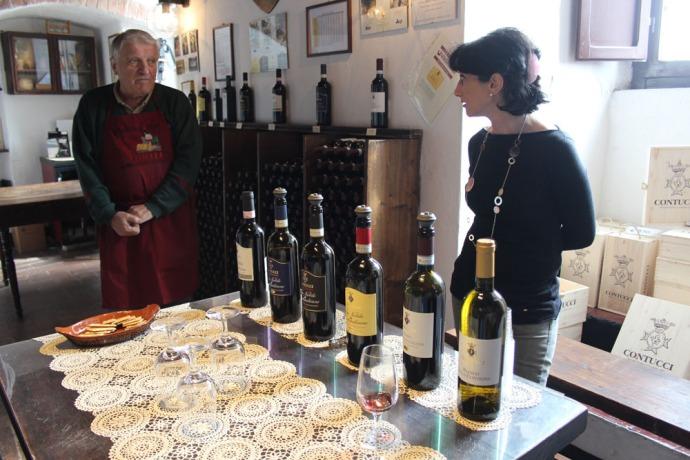 Montepulciano Contucci Adamo & helper tasting