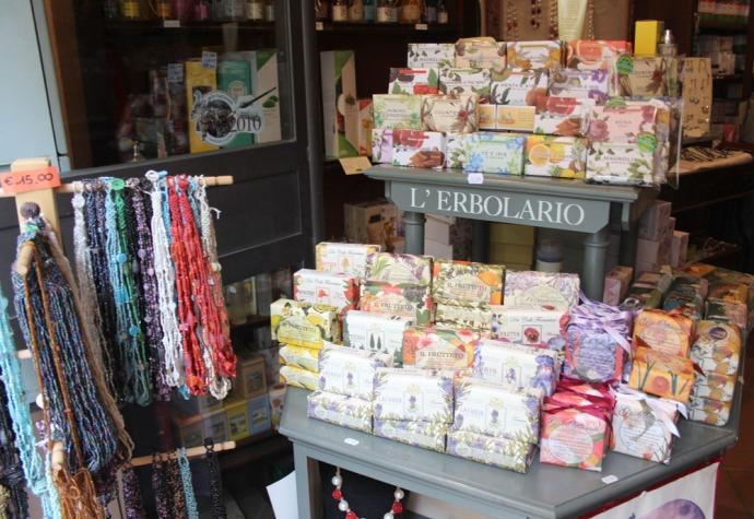 Montepulciano soap & jewelry
