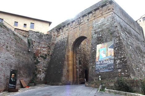 Montepulciano town gate