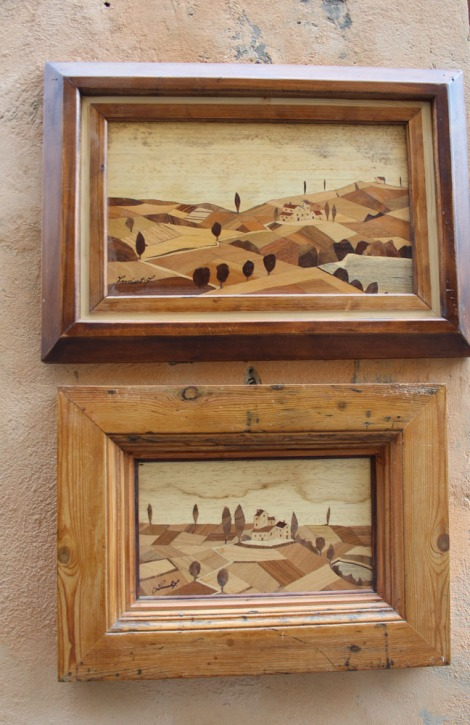 Montepulciano wood inlay pictures