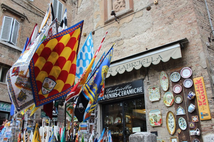 Siena flags