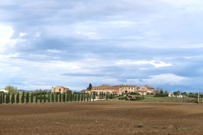 Tuscan country estate