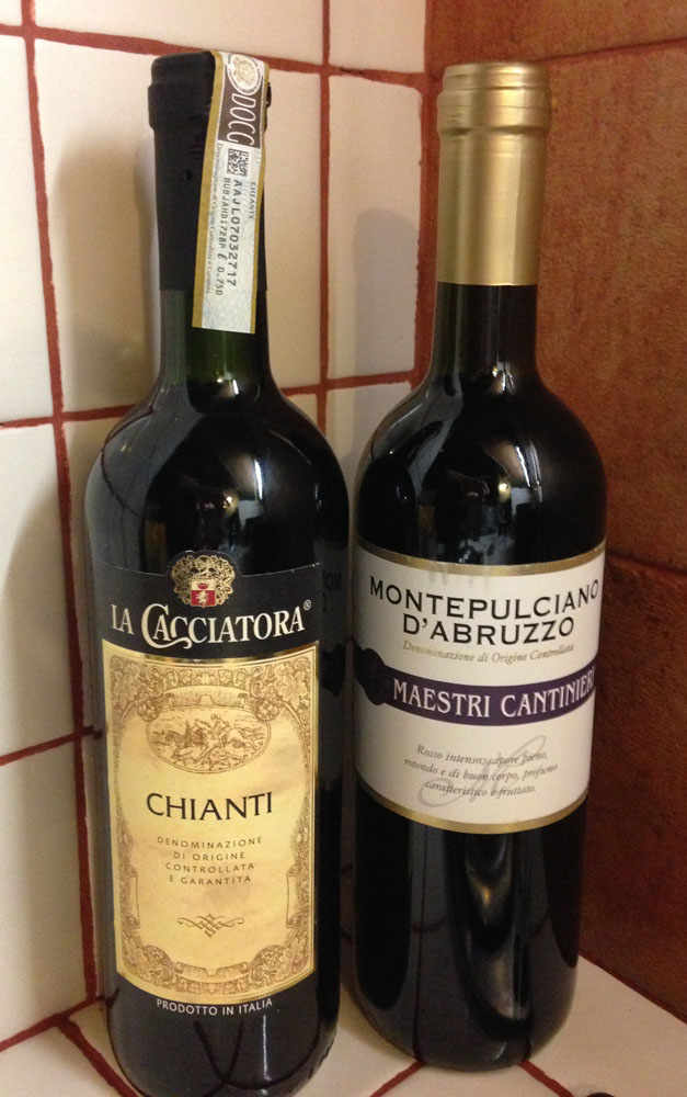 Tuscan red wines, COOP