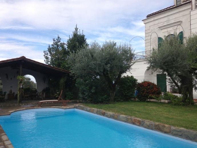 Erca pool and house