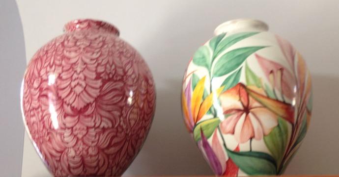 Massa Artinostre ceramics 2 big vases
