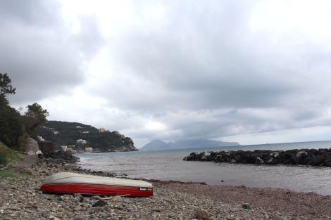 Massa beach and boat