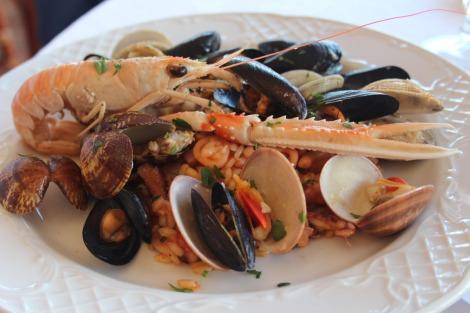 Massa Funicula seafood platter