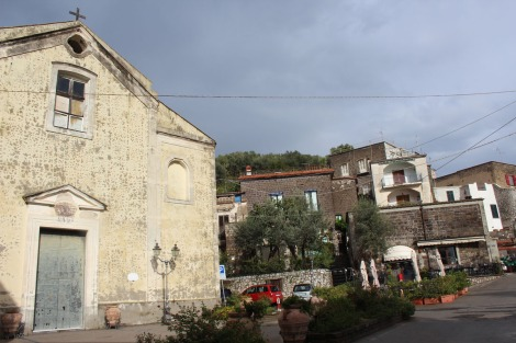 Massa La Torre and church