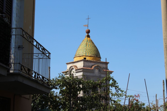 Massa marina village church top