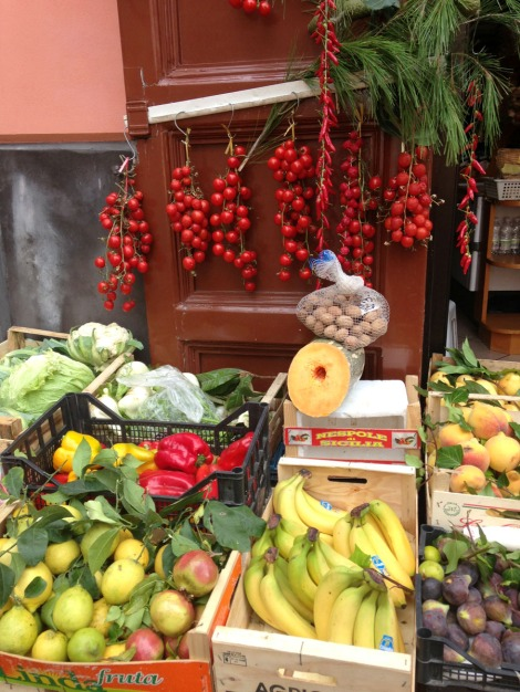 Massa produce shop display