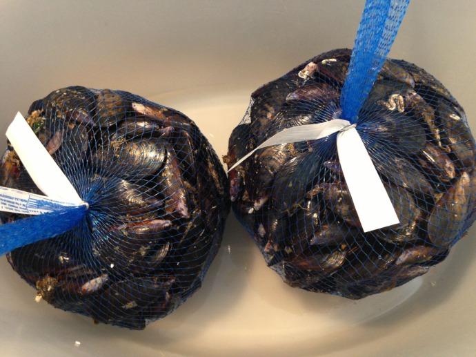 Massa seafood, mussels