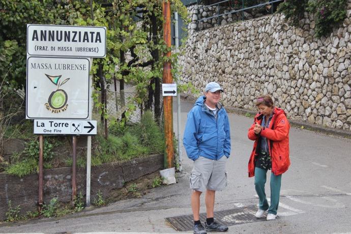 Massa sign, Wally & Lucia