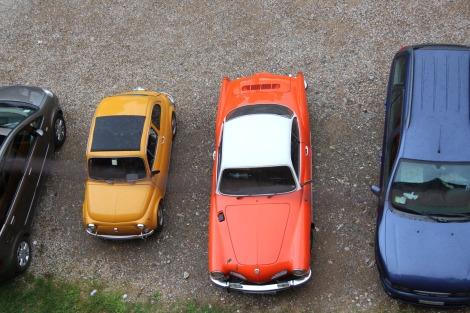 Pienza car lineup