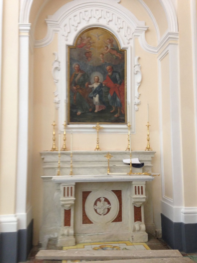 Santa Maria church painting 2