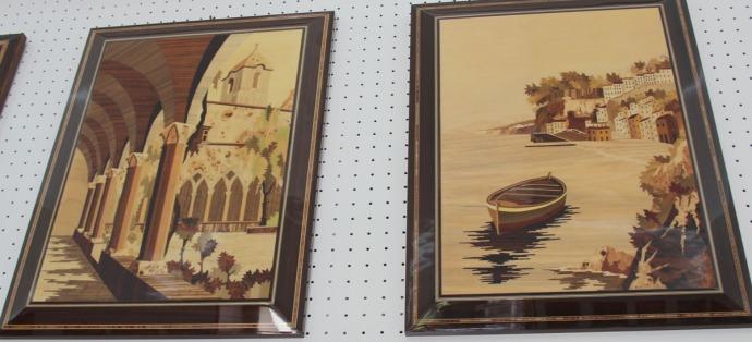 Sorrento A. Stinga cloister and boat