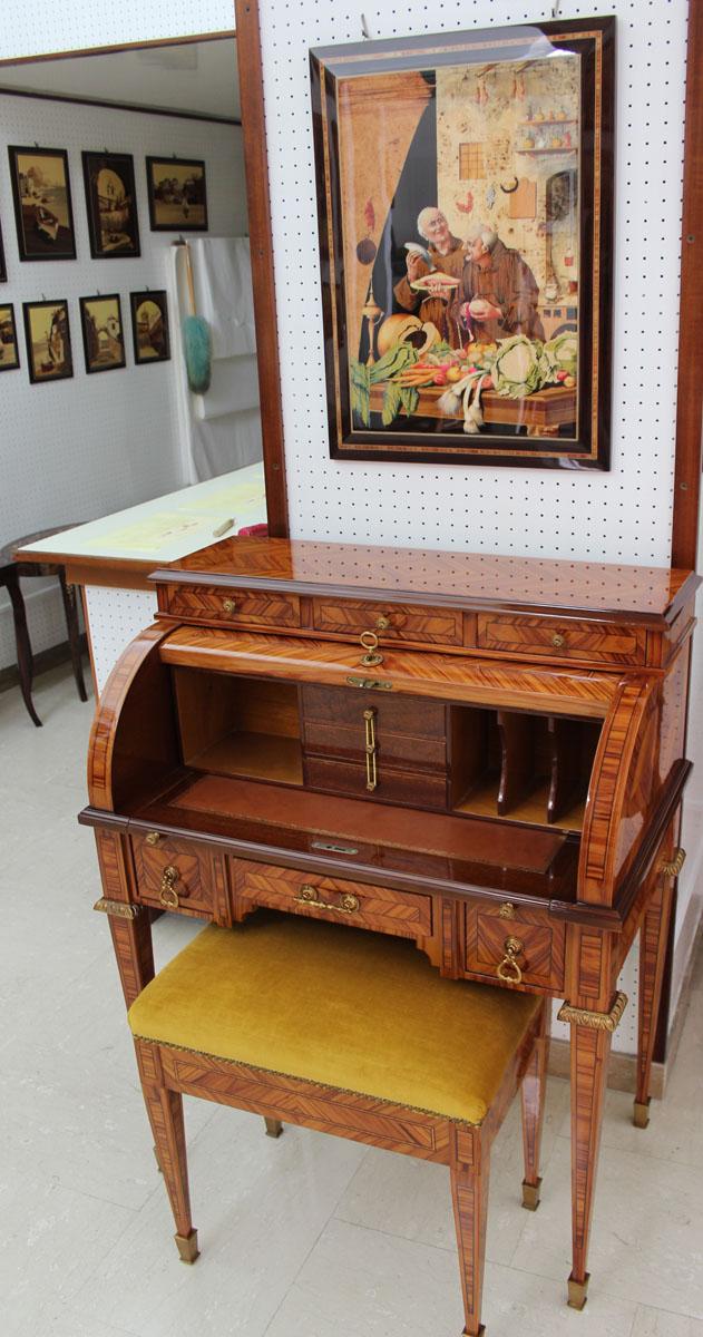 Sorrento A. Stinga rolltop desk