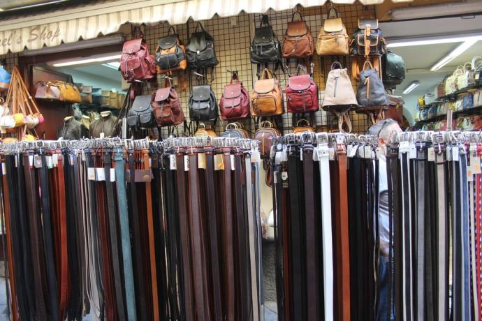 Sorrento belts & bags