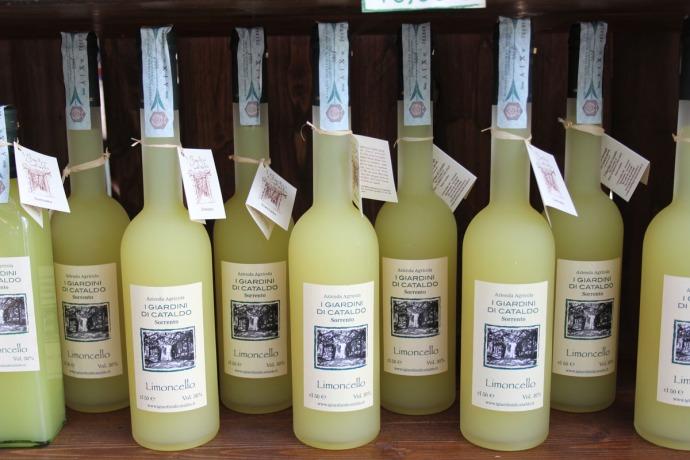 Sorrento Giardini Di Cataldo Limoncello bottles