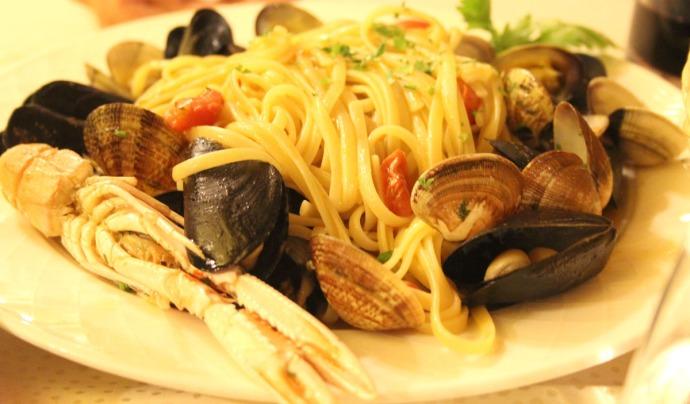 Sorrento Ristorante Da Gigino seafood dish