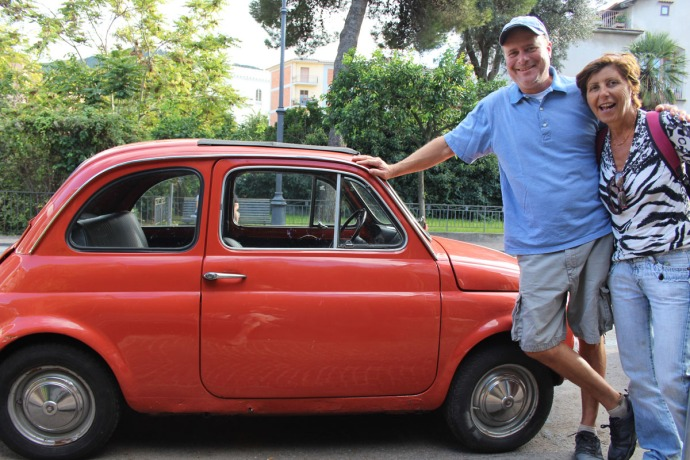 Sorrento Wally & Lucia with Fiat