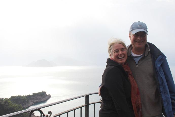 Capri silver jamie & wally giggling