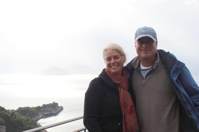 Capri silver jamie & wally smiling