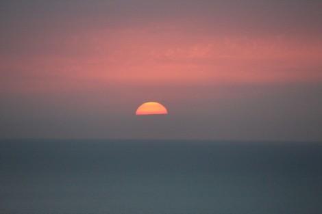 Erca Sunset half sun