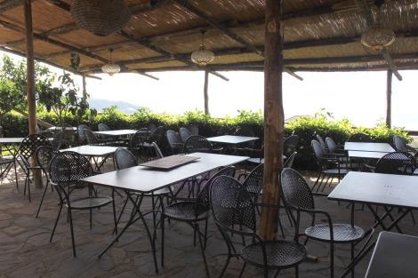 Massa Il Cantuccio covered panorama patio