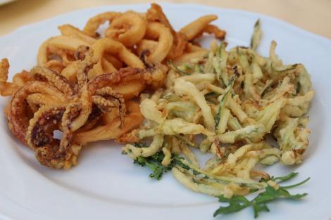 Massa Il Cantuccio fried squid