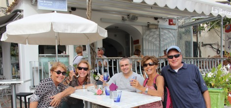 Positano La Brezza friends good