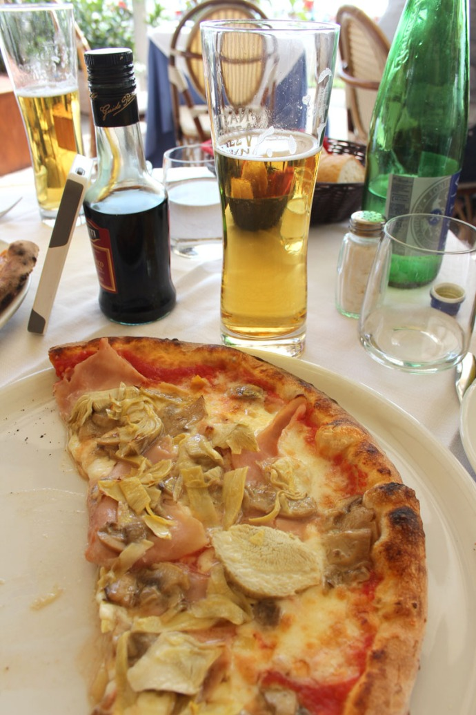 Positano L'Incanto pizza and beer vert