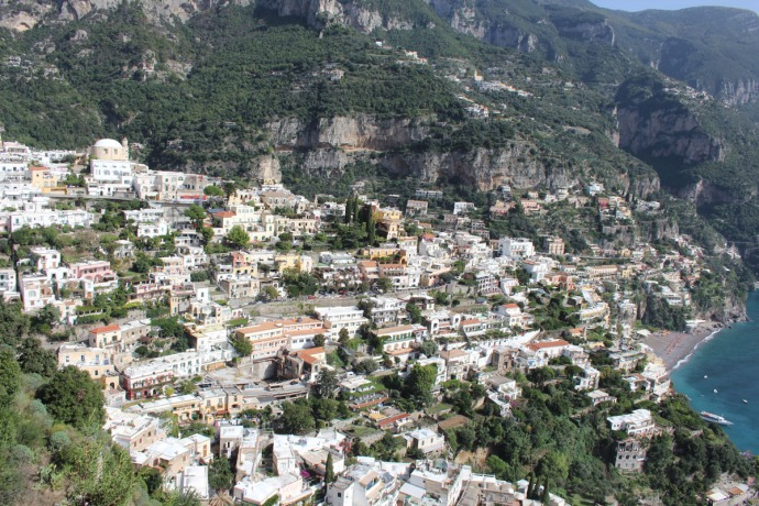 Positano overlook houses blsup