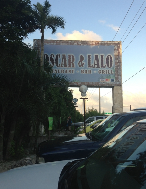 Oscar & Lalo sign, full lot