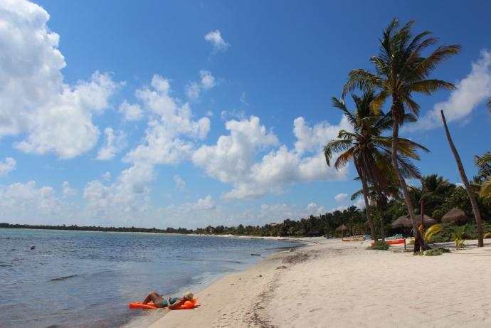 Soliman Bay beach float lounger