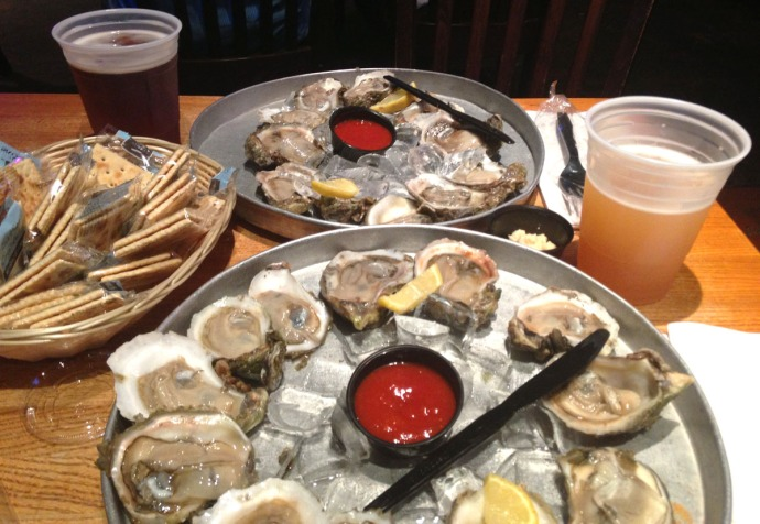 Bernies oysters & beer