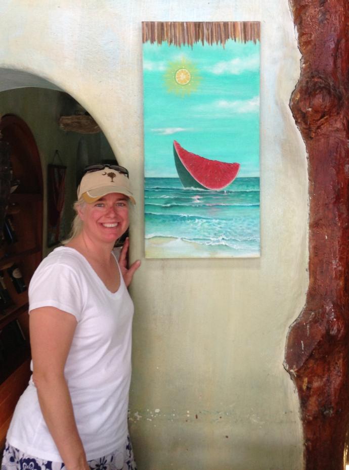 La Nave Jamie & painting
