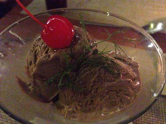 Piedra Escondida chocolate gelato