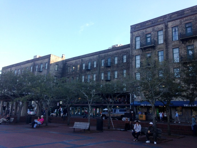 Savannah Riverfront shops