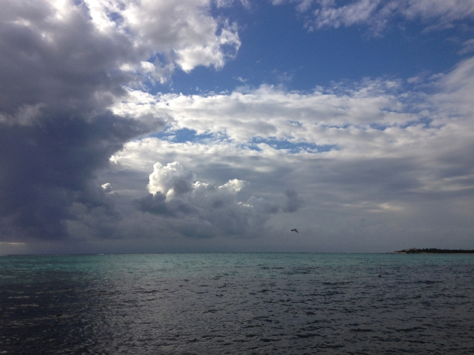 Soliman Bay dark, light & aqua