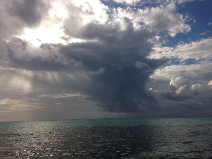 Soliman Bay heavenly clouds 1
