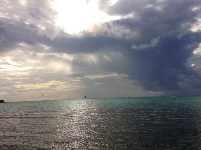Soliman Bay heavenly clouds 2