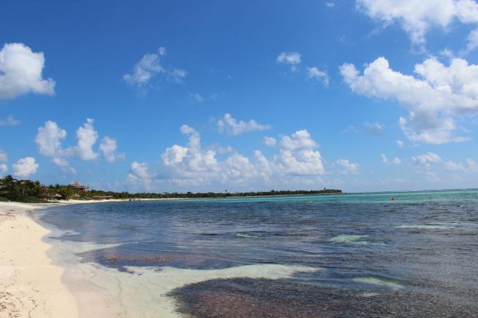 Soliman Bay low tide waters
