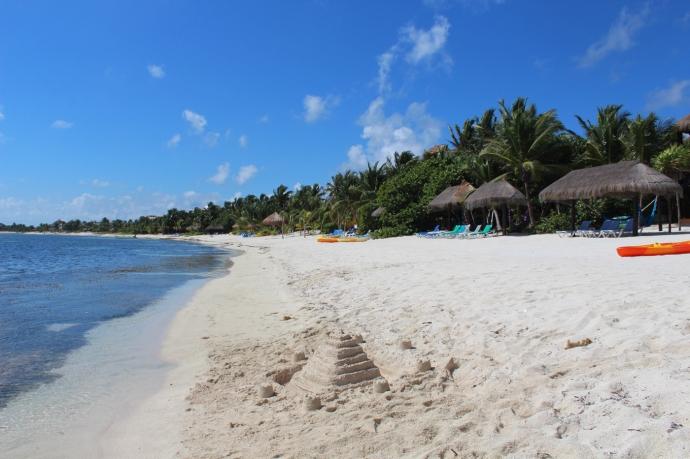 Soliman Bay sand pyramid