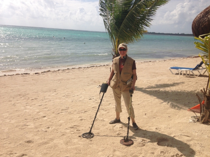 Soliman Bay treasure hunter