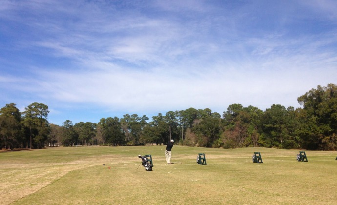 Daufuskie Bloody Point driving range